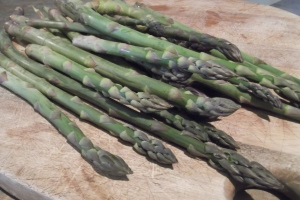Luckily there is a lot of recipes for asparagus - although my favourite is simply steamed!