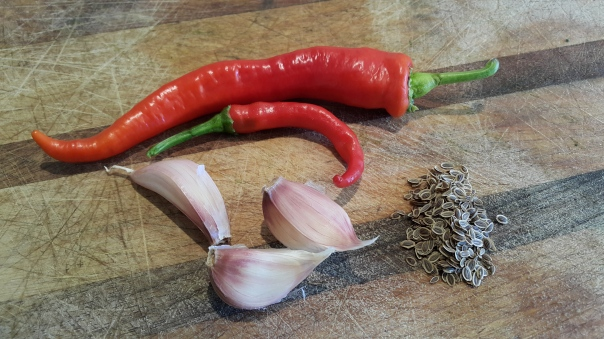 Chilli and garlic