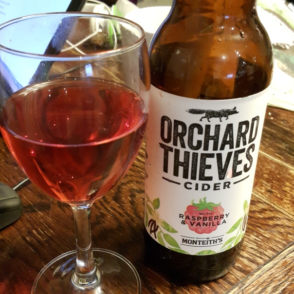 Monteith's Orchard Thieves Cider - so very good