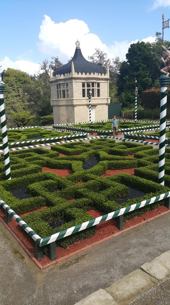 Tudor Knot Garden at Hamilton Gardens