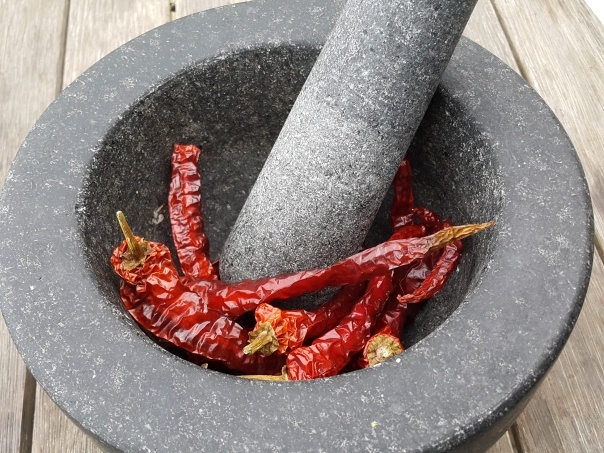 With chillies you can  have it as hot as you like.
