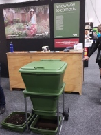 Go Green Expo Worm farm