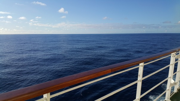 Such beautiful blues at sea