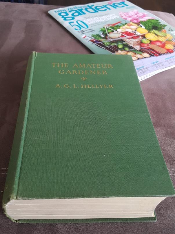 Old Gardening Book