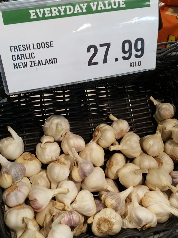 Buying Garlic