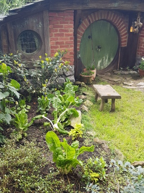 All the hobbit holes had gardens