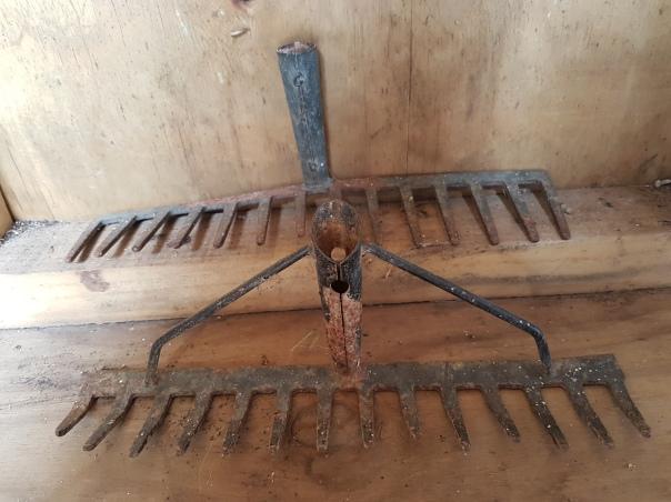 Broken rakes