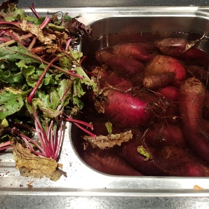 wash beetroot