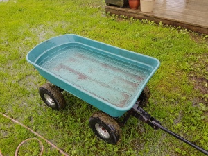 Water filled trolley