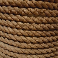 Rope on a post