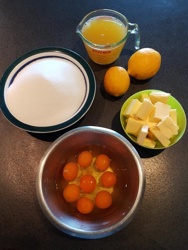 Lemon Honey ingredients