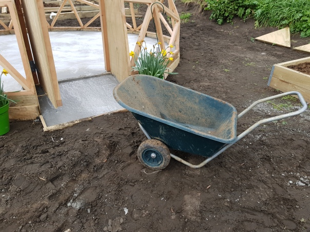 Greenhouse ramp