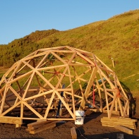 The dome was built