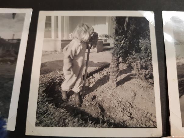 Young Sarah the Gardener