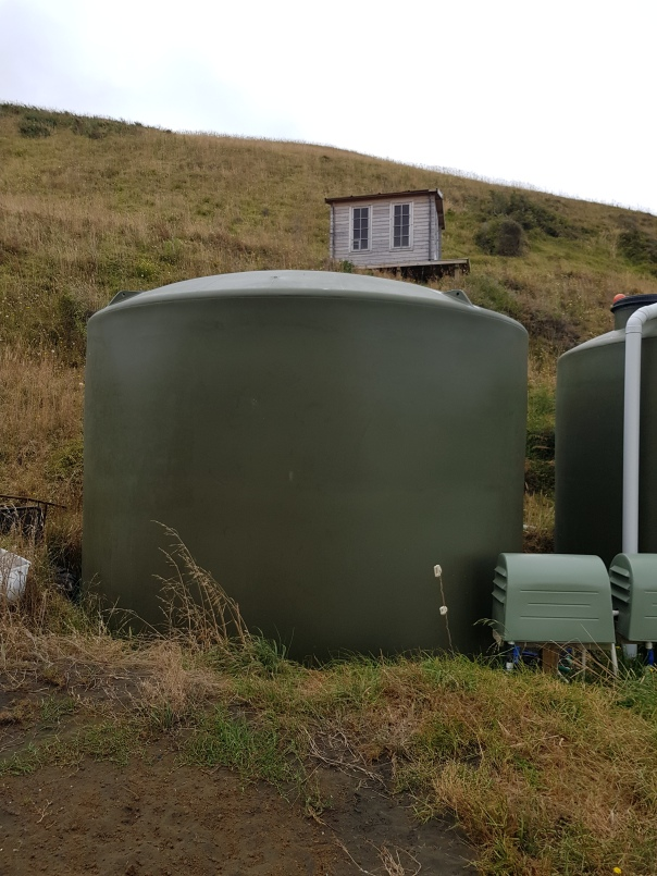 The garden water tank