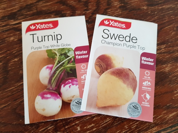 Swede and turnip seeds
