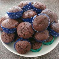 Scallopini Chocolate Muffins