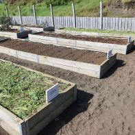 Winter ready garden beds