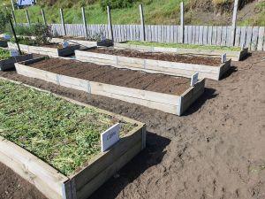 Winter ready garden beds