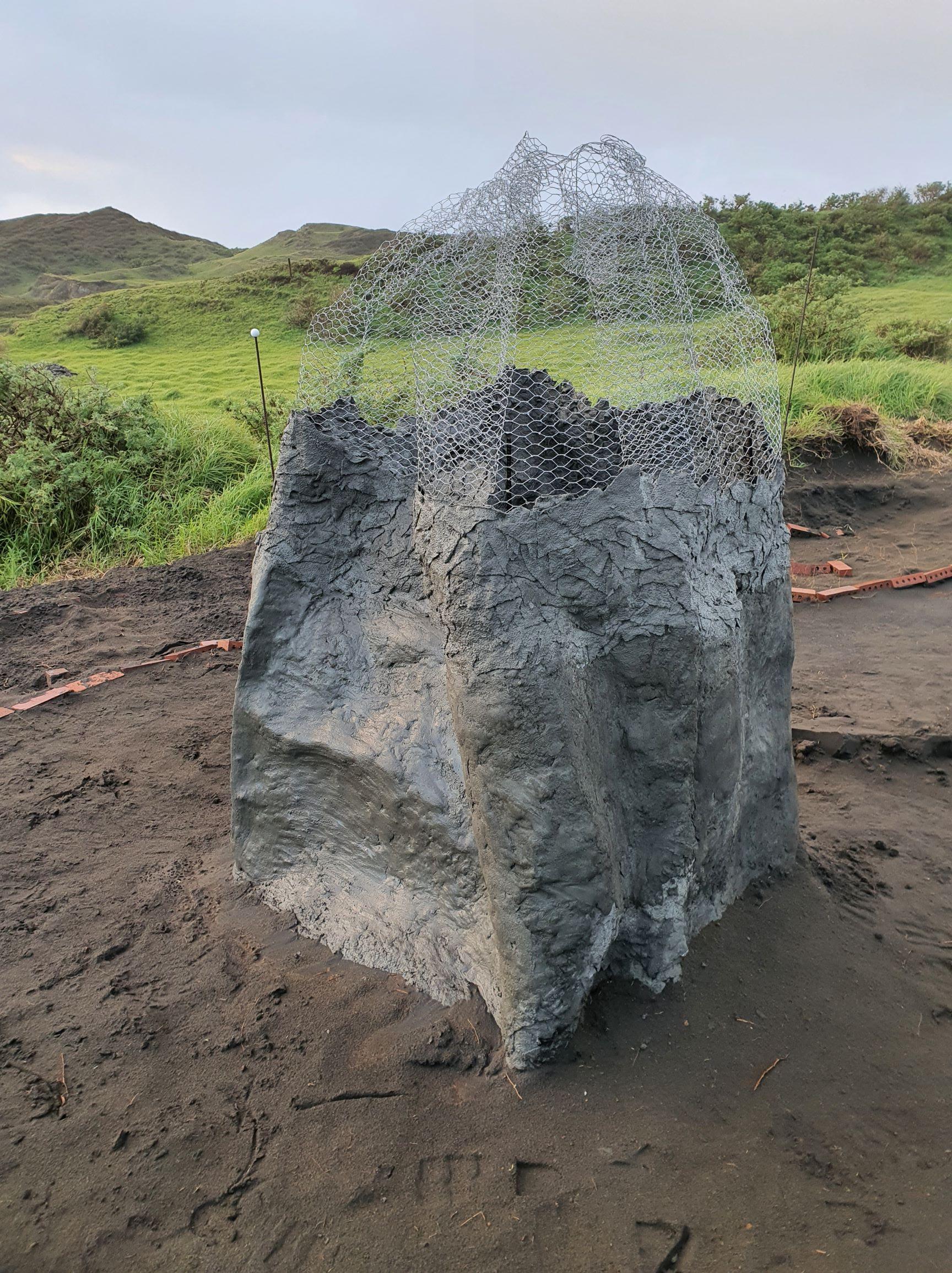 Building a rock