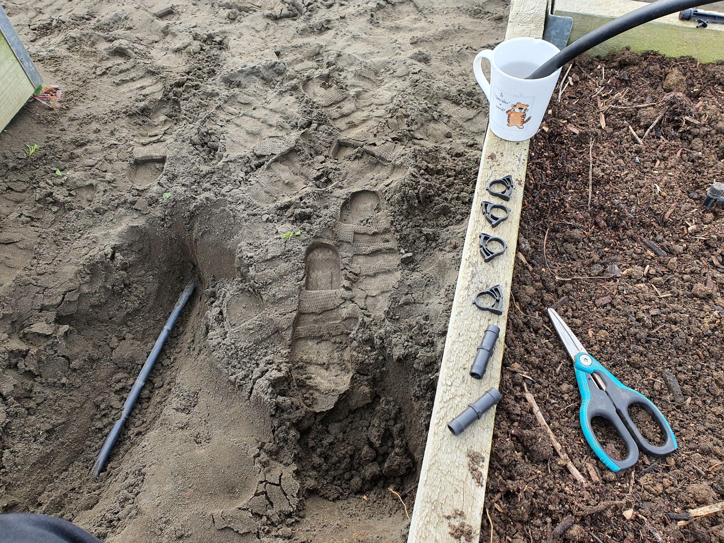Fixing irrigation