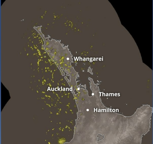 rain radar rain